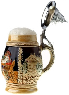 German Beer Mug (Bierstein)