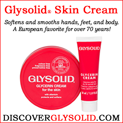 Glysolid Skin Cream - Smooths and softens dry skin on hands, feet, and body